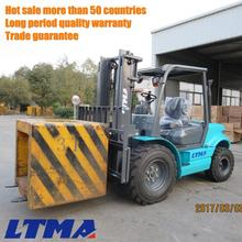 Hot sell china forklift 3 ton rough terrain forklift specification