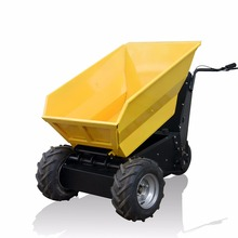 Small agricultural tool mini power wheel barrow for vegetable transportation