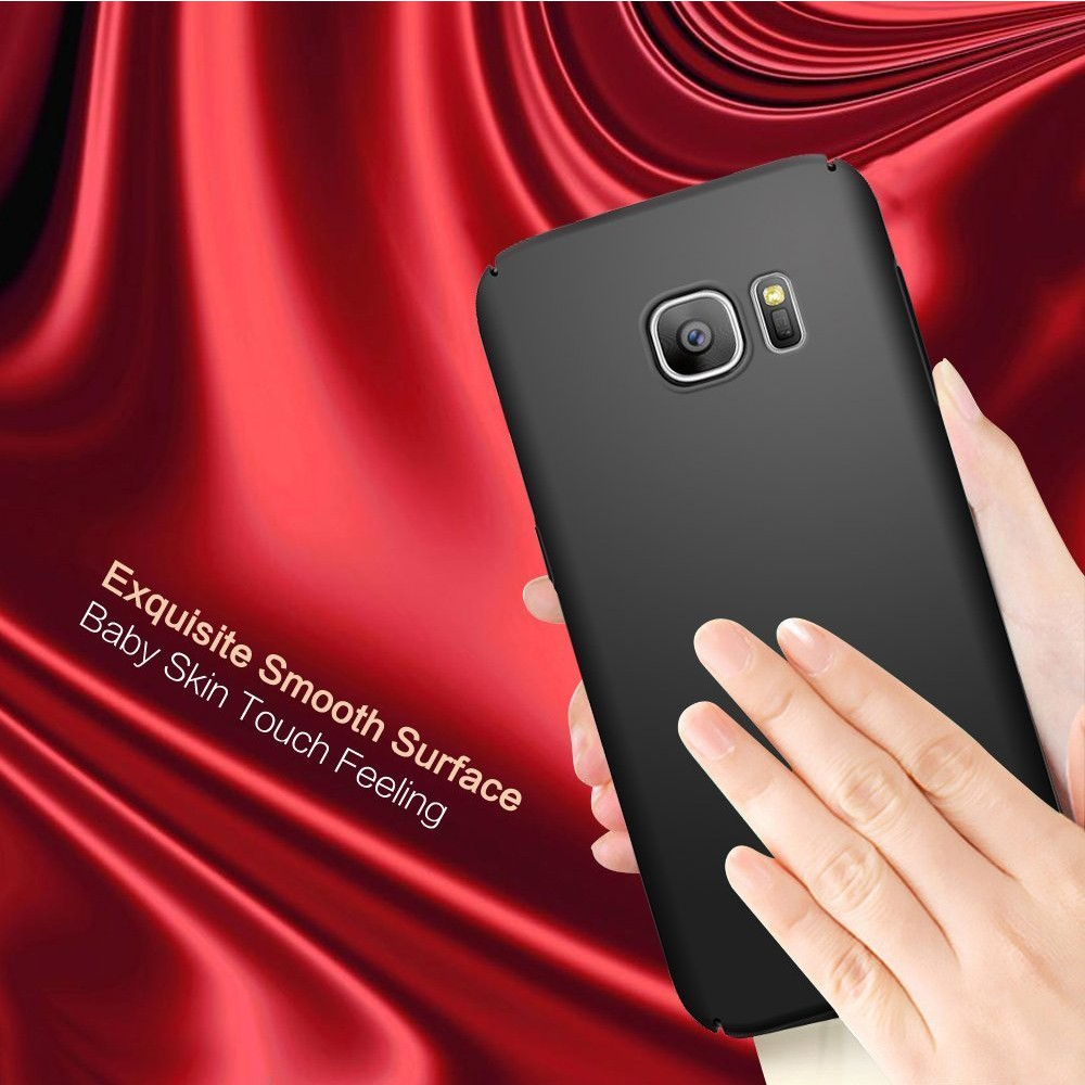 C&T Black Thin Hard Protective PC for Samsung S8 Back Cover