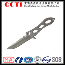 whosesale high quality titanium plate for titanium sword
