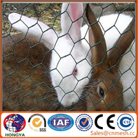 hexagonal wire mesh rabbit cage chicken fence for sale