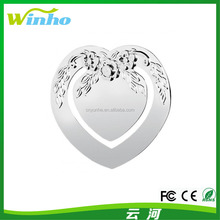 Winho love heart embossed bookmark