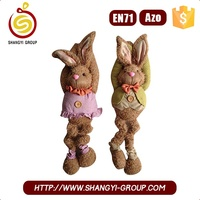 Handmade Easter plush bunny soft dolls and toys