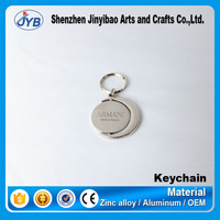elegant design pormotional special keyring custom floating keyring floating round keychain