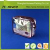 China manufacturer custom size clear vinyl cosmetic bag/ transparent plastic bag