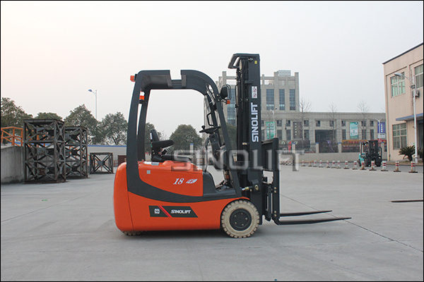 HOT! Sinolift CPDS Three Wheels AC Electric Forklift Truck