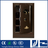 New electric 2016 popular series safe coffer money deposit metal material fireproof key security box