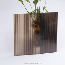 Prism Light Diffuser Polycarbonate Sheet/Prism Pattern PC Sheet/Embossed PC sheet