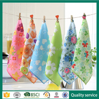 China supplier quick dry printed baby handkerchief