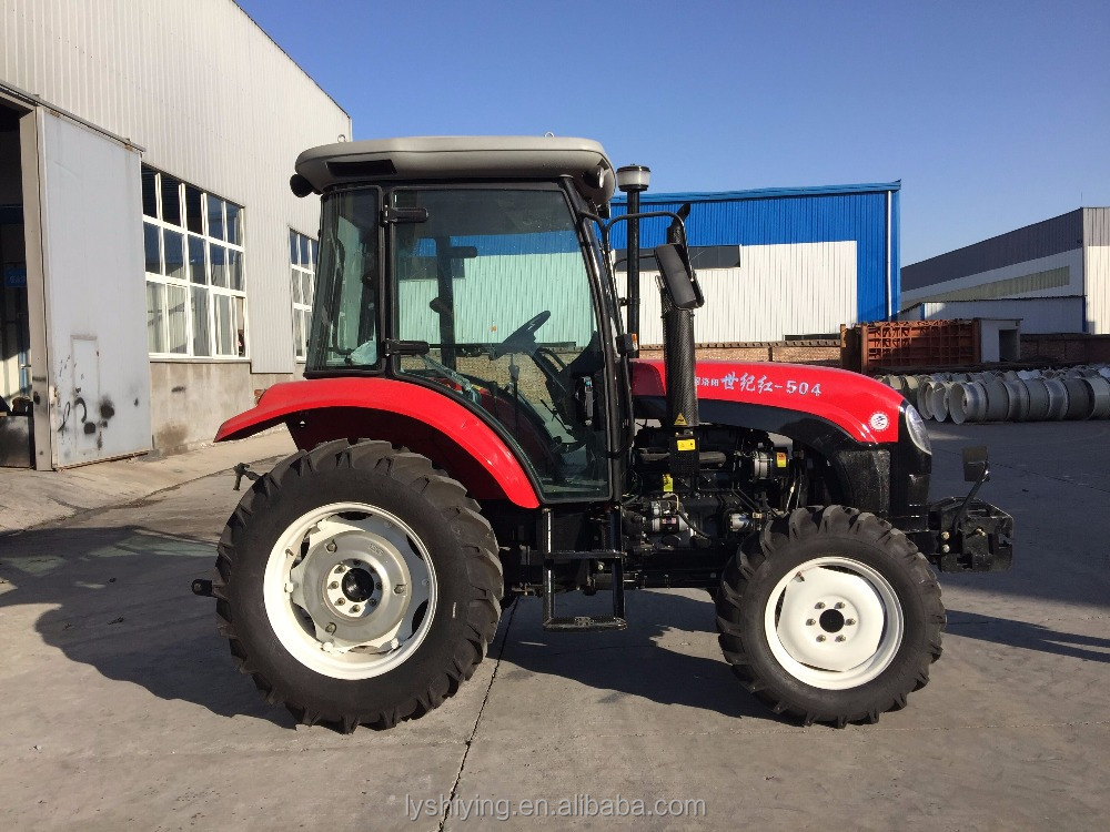 SJH 50hp 4wd high quality farm tractor with mini hay baler for sale