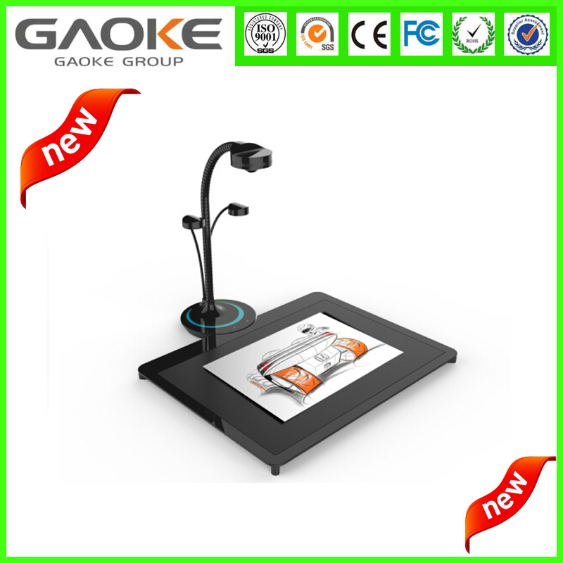 Trade Assurance Professional Manufacturer 5mega pixel A4 capture size Wi-fi document camera