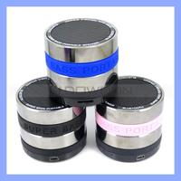 Portable Rechargeable Mini Speaker Support TF Cards Portable Mini Speaker with FM Radio