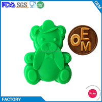 Different Animal Shape Small Silicone Cake Pop Baking Molds