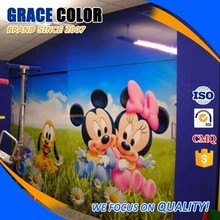 Excellent Printing Performance Self Adhesive Vinyl Wall Covering