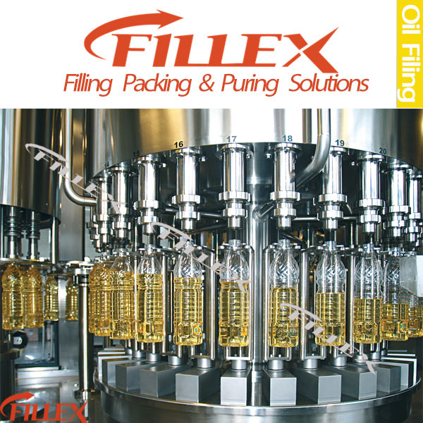 Automatic Cooking Oil, Vegetable Oil Filling and Sealing Packing Machine