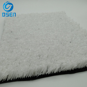 20mm PP fibrillated Dt8000 Ski white colored artificial grass for Skiing Slope