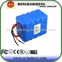 Lithium ion battery 12V Light Weight li ion battery packs 14Ah 3s7p in ShenZhen