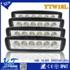 High Power 18w led work light Combo beam Flood/Spot 4*4 Black s Street Legal with Protective Black s
