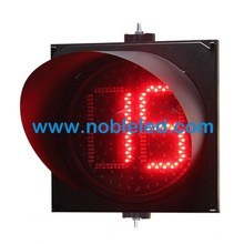 300mm red green countdown timer 2 digits traffic light