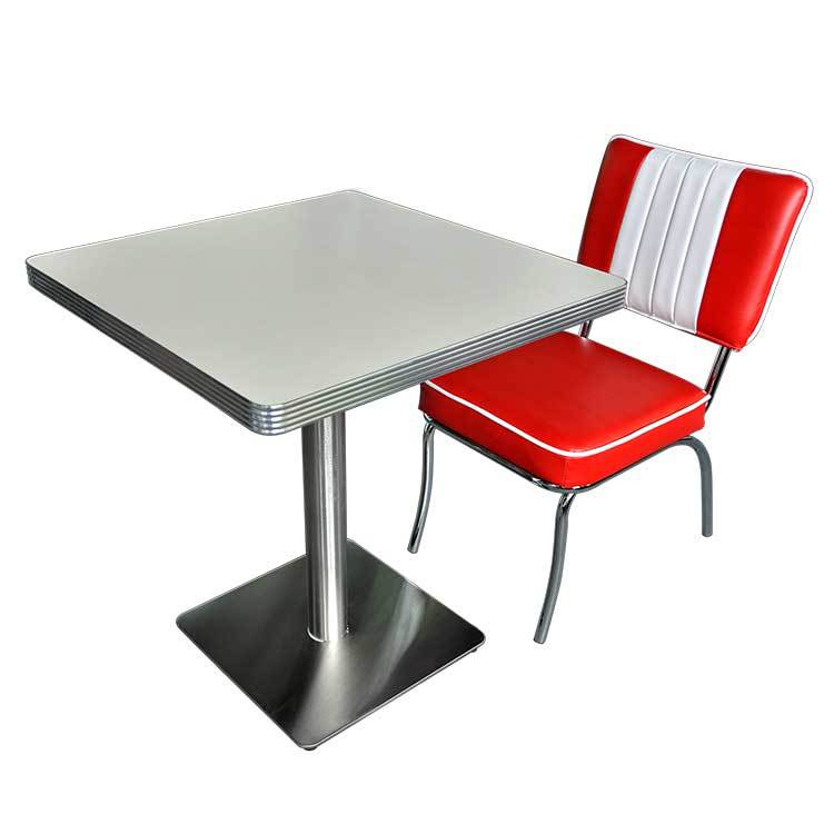 Cheap with high quality fast food restaurant table and chair set