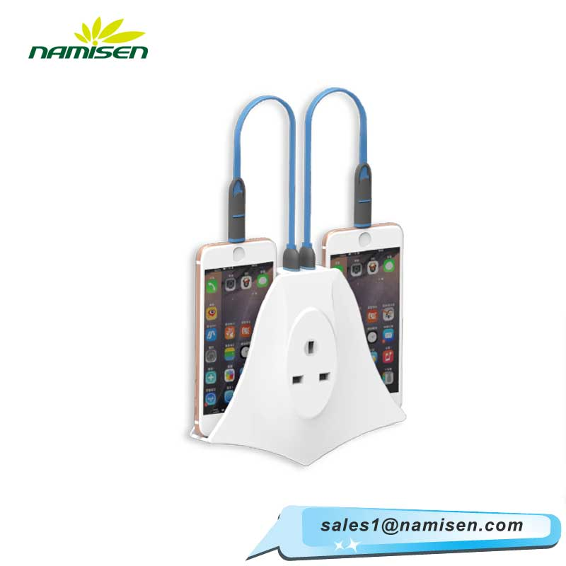 New arrival UK type 2Ports USB Charger