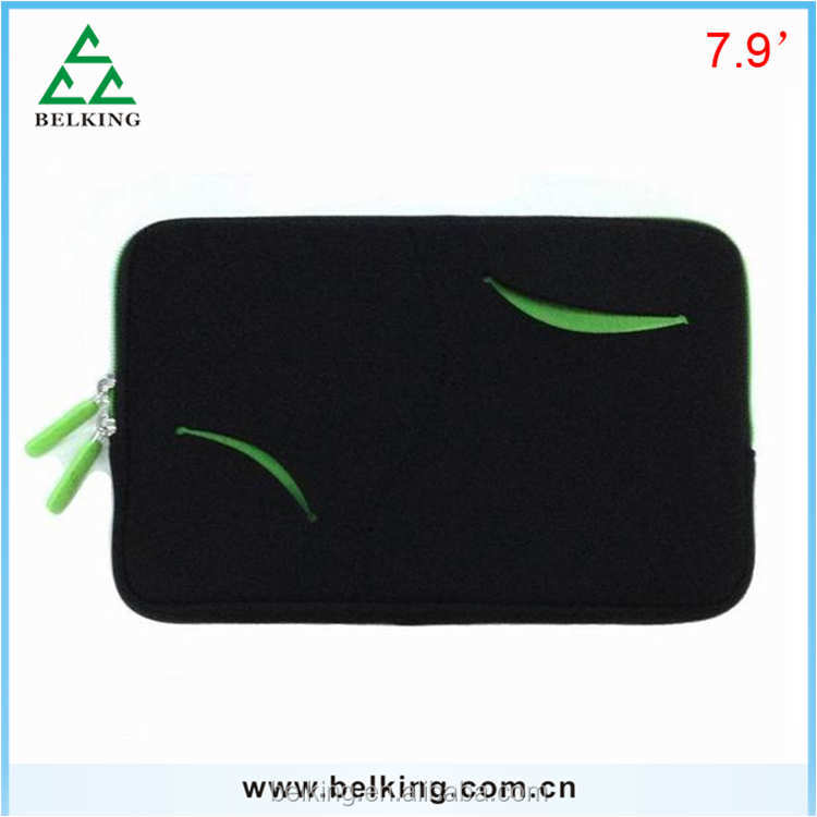 Universal 7.9inch tablet Zipper Sleeve for iPad mini/Wholesale Stand Bags For iPad mini