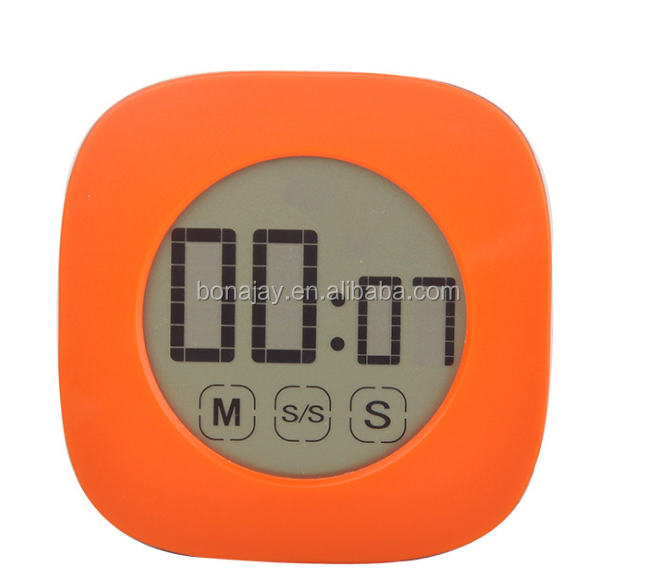 0-99 Minutes Touch Screen LCD Backlight Digital Timer Alarm Clock Cooking Tools for Kitchen