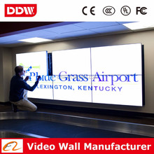 55 inch 3.5 mm 800nits LG ultra narrow bezel LCD video wall for fashion store <strong>advertising</strong> DDW-LW5507