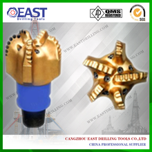 API 4 5/8 inch 5 blade PDC oil drill bit for coal mining