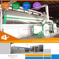 Profitable Jinpeng Tyre Oil Extracting Machine, Advanced Technology Waste Garbage Recycling Production Line
