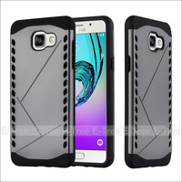 Hybrid Plastic Shield Phone Case TPU Hard Back Cover for Samsung A5 2016
