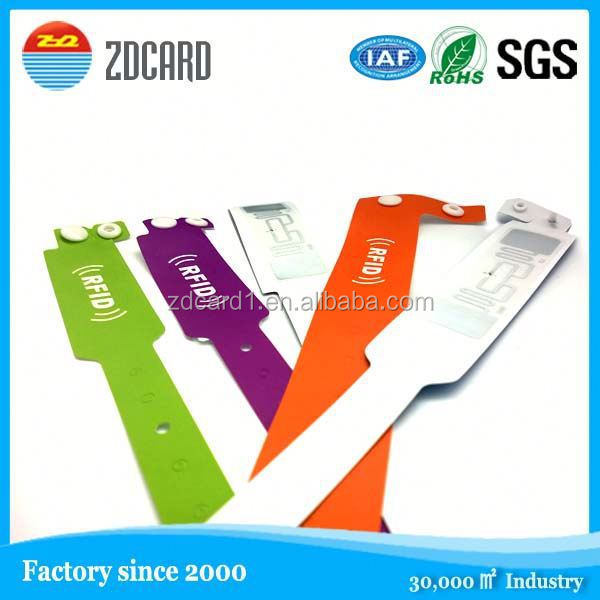 Wholesale customized nfc rfid wristbands energy balance silicone band