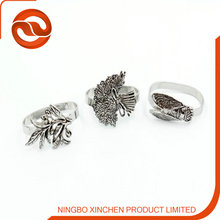 Promotion lead zinc alloy napkin ring /metal napkin ring