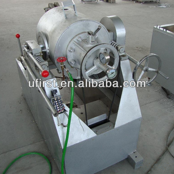 air flow high yield grain/cereal puffing machine