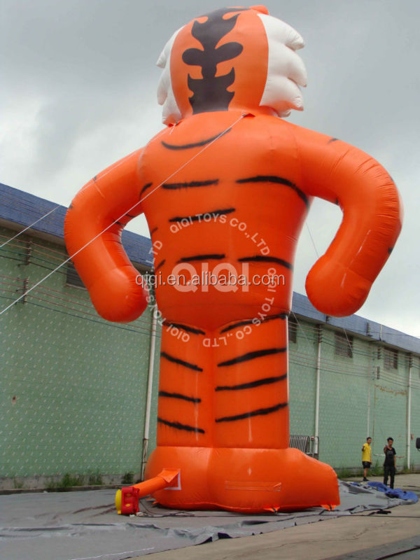 Tiger customized cheap inflatable advertisement equipment for sale