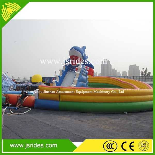 outdoor playground equipment kids inflatable water park inflatable land park games for children