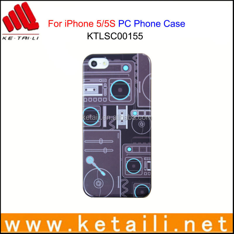 OEM Printing PC Mobile Phone Case for iPhone 5S WHOLESALE PRICES