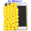 3D Furry Balls Pattern TPU Protective Phone Case for iPhone 7 Covers