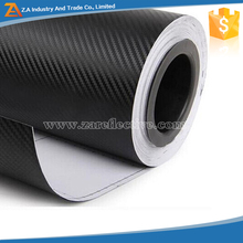 1.52*30M 3D Carbon Fiber Matte Black Vinyl Sticker Roll