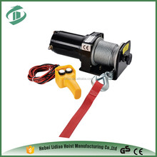 Low Speed electric utility winch warn electric winch 110v