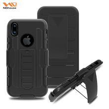 Heavy duty hybrid rugged case for iphone 8 case silicone,black for iphone 8 bumper case