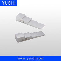 YUSHI 4 step ultrasonic calibration block calibration of instruments calibration blocks for ultrasonic testing