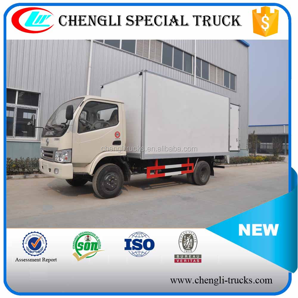 Dongfeng 4x2 4x4 LHD Right Hand Drive 5T Small Refrigerated Truck cold room van