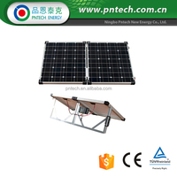 Monocrystalline 100W folding solar panel , 100watt folding solar panel