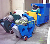 Mobile Pavement Cleaning Machine Portable Shot Blasting Machine