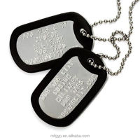 aluminum military dog tags free engraving