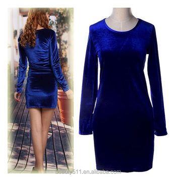 Women Party Dresses Synthetic Leather Suede Long Sleeve Sexy Club Winter Dress Bodycon Bandage Dress SD55