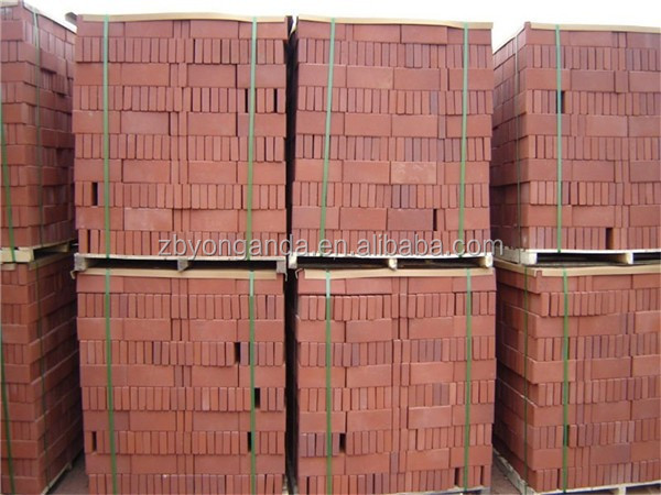 red clay brick pavers
