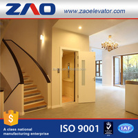 Fast Speed And Noiseless Cheap Passenger Elevator Lift Villa Lift