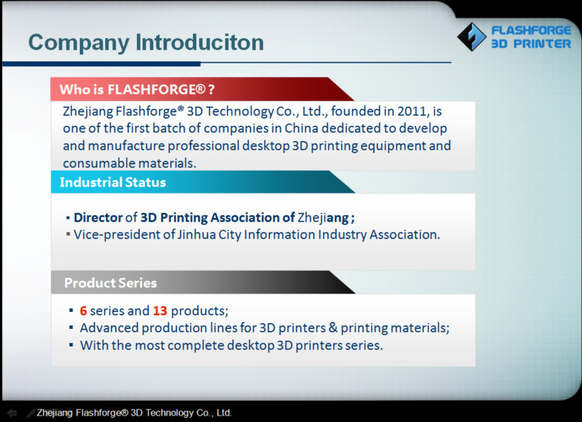 flashforge makers of 3d dental printer machine new model--Creator Pro